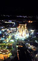 ナガシマスパーランドの夜景