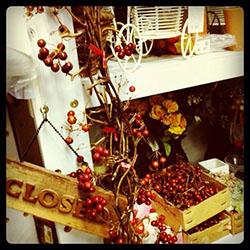 花屋の店内