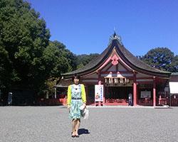 津島神社 七五三