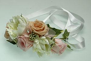 プリザーブドフラワー、結婚式のリストレット